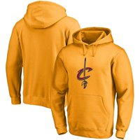 Cleveland Cavaliers Fanatics Branded Primary Team Logo Pullover Hoodie - Gold