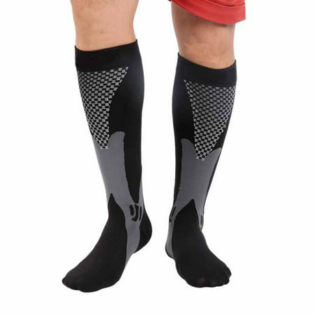 Compression Socks for Men & Women – Best (20-30mmHg) Medical Grade Graduated Recovery Stockings for Nurses, Maternity, Travel, Running, Leg Relief, Swelling, Calf Pain, Shin