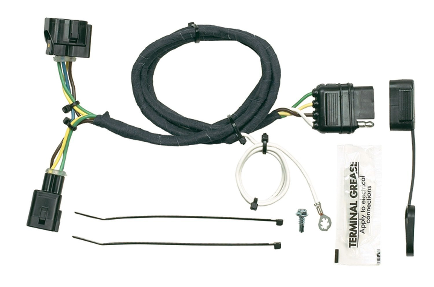Trailer Wiring Connectors For Jeeps Library Simple Hopkins 42615 Plug In Vehicle Kit Pico 42475 42115 19982004 6952pt Jeep