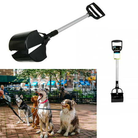 1 Dog Cat Pooper Scooper Rake Pet Large Metal Base Waste Poop Clean Up Grip Clip - Black Cat Halloween Clip Art