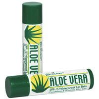 Cococare Aloe Vera Lip Balm, Spf-15 - 0.15 Oz, 2 Pack Aloe Vera Lip Balm