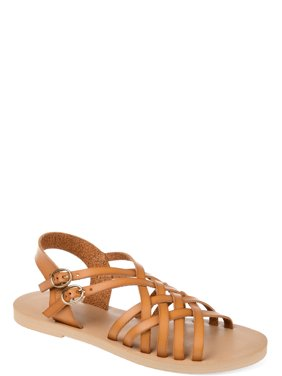 750d2c45569 Womens Basketweave Dual Buckle Sandal