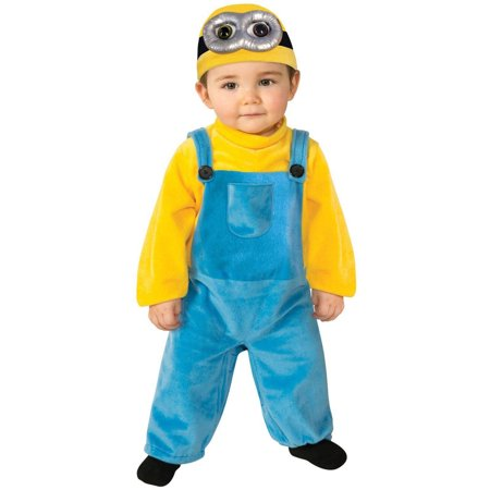 Minions Movie Bob Toddler Halloween Costume, Size 3T-4T](Silent Bob Costume)