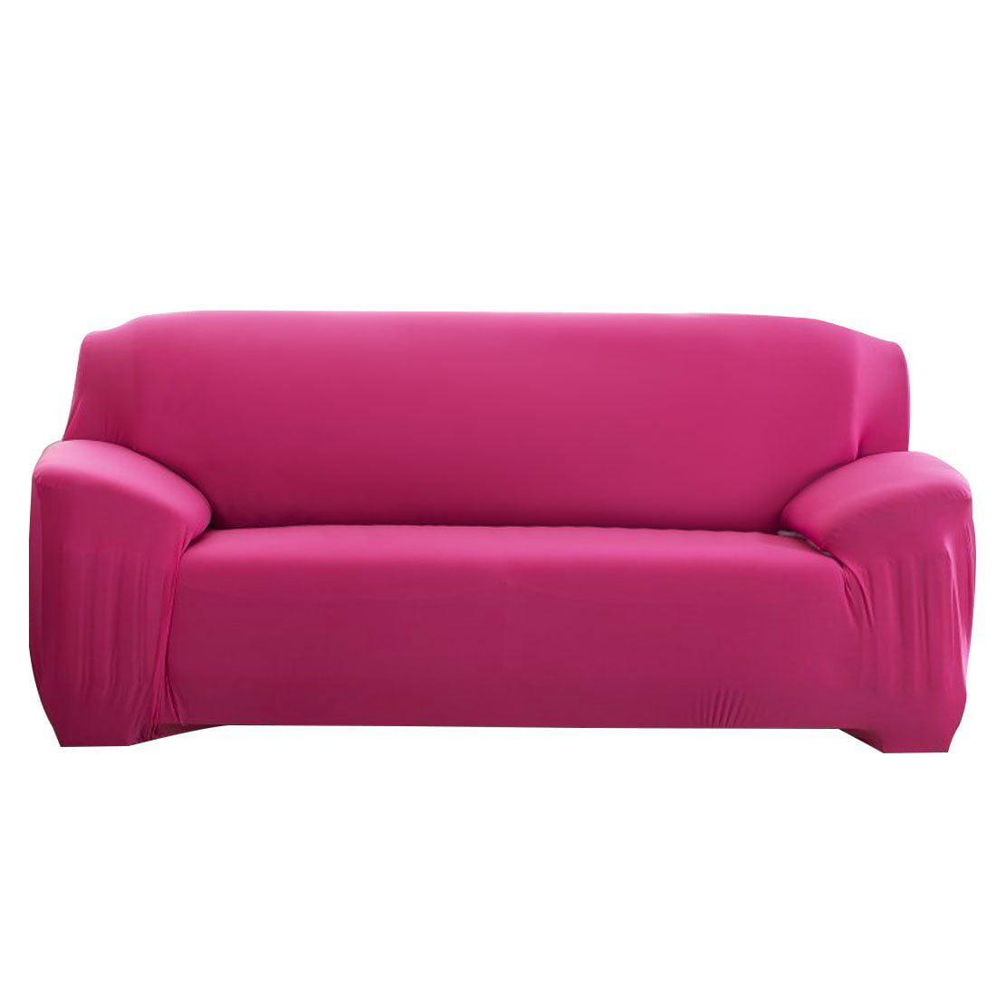 Stretch Sofa Slipcover, Elastic Sofa Cover Couch Pure Color Anti ...