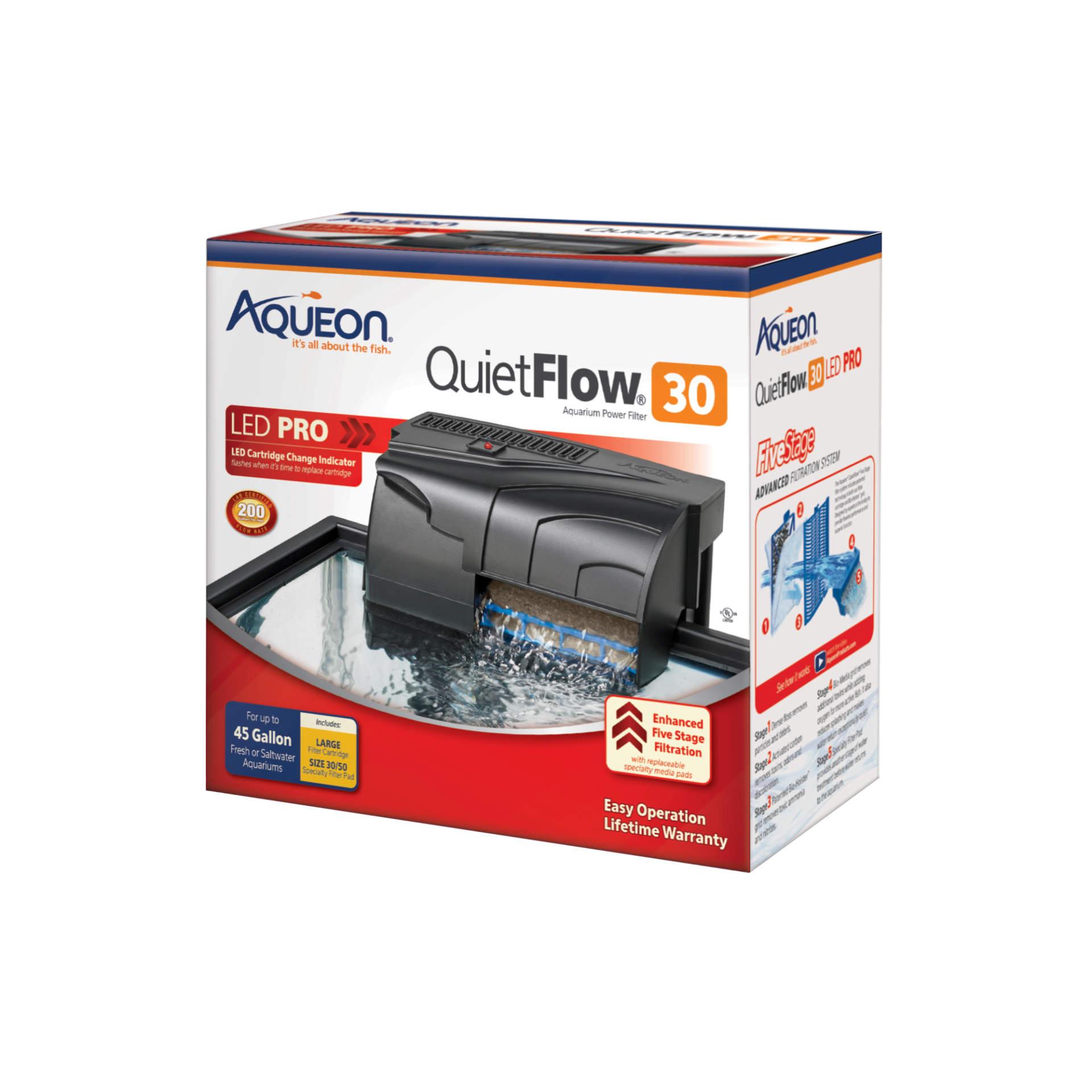 Aqueon QuietFlow LED 30 Filter