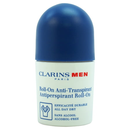 Antiperspirant Deo Roll-On by Clarins for Men - 1.7 oz Deodorant