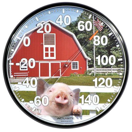 "AcuRite 12.5"" Barnyard Thermometer 01920"