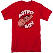 Astro Boy Flying Mens Big and Tall Shirt