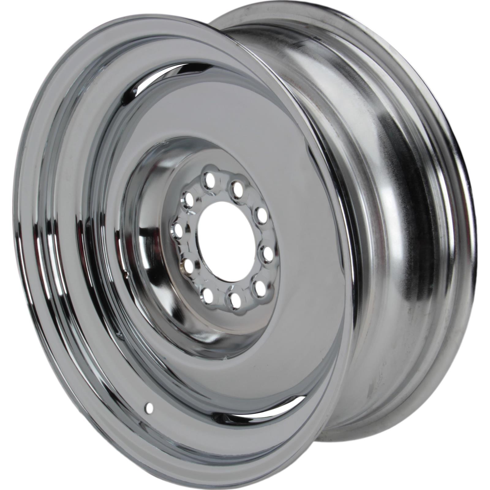 Speedway Vintage 15x6  Steel Wheel, 5 on 4.5/4.75, 3.5 Inch BS