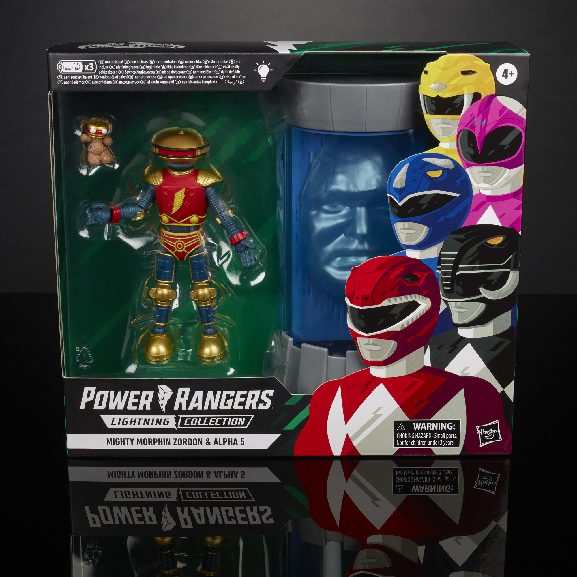 Power Rangers 2020 Lightning Collection MIGHTY MORPHIN ZORDON /& ALPHA 5 2-Pack