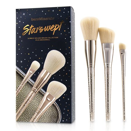 BareMinerals Starswept Deluxe Brush Collection  3pcs+1bag (Bareminerals Collection)