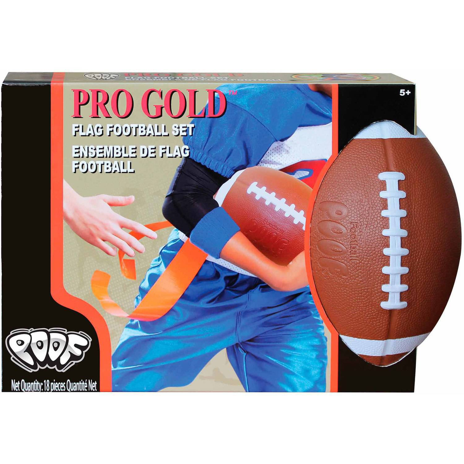 POOF Pro Gold Flag Football Set by POOF-Slinky, Inc.