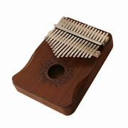 17 Keys Kalimba African Thumb Finger Piano Wood Kalimba Portable Musical Instrument