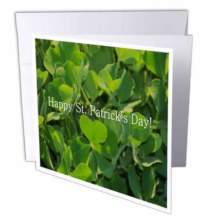 Rose Clover Shamrock Hy St Patrick 8217 S Day Greeting Cards