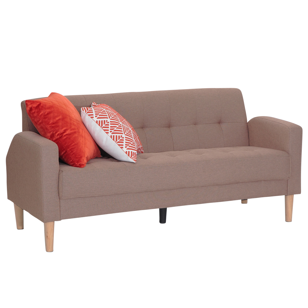 Viscologic Mid Century Modern Loveseat Sofa Couch Loveseats Chair Suitable For Small Spaces Sofa Brown Walmart Canada