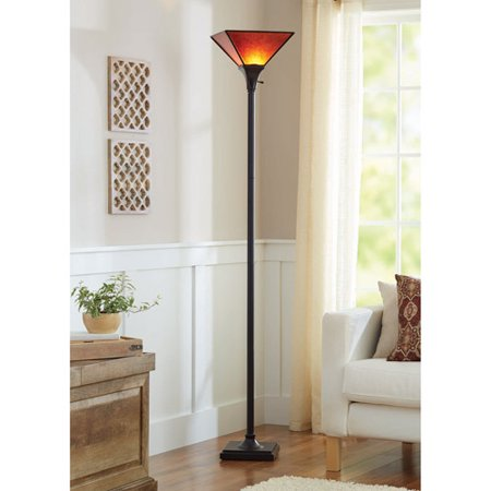 Better Homes and Gardens Mica Floor Lamp, Bronze - Walmart.com