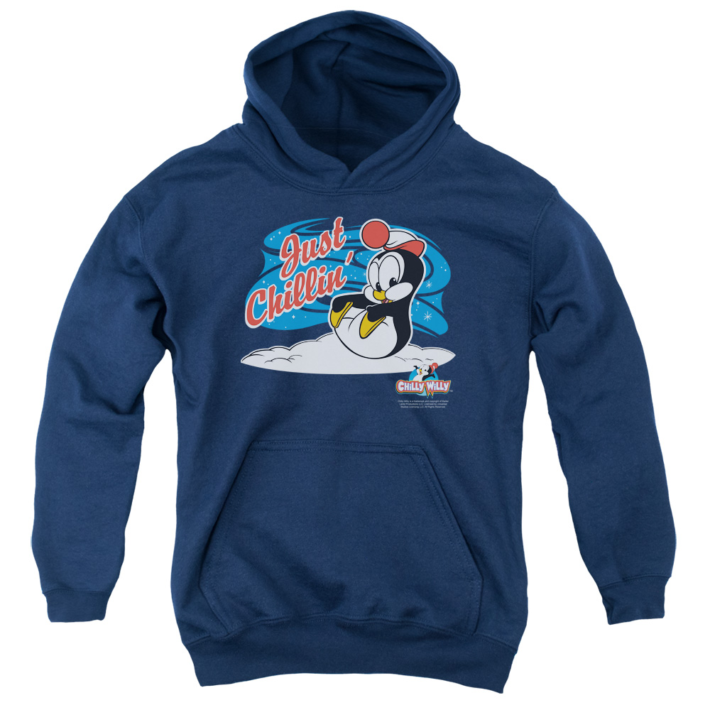 Chilly Willy Just Chillin Big Boys Pullover Hoodie