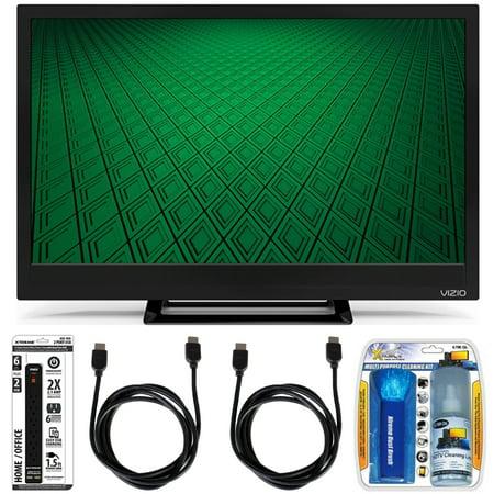 vizio d24hn d1 d series 24 inch edge lit led tv accessory bundle includes television screen. Black Bedroom Furniture Sets. Home Design Ideas