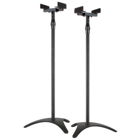 Dayton Audio SS-SAT Satellite Speaker Stand Black Pair