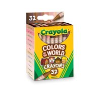 Crayola 32 Piece Count, Colors of the World, Multicultural Crayons Boys and Girls All Ages 3+