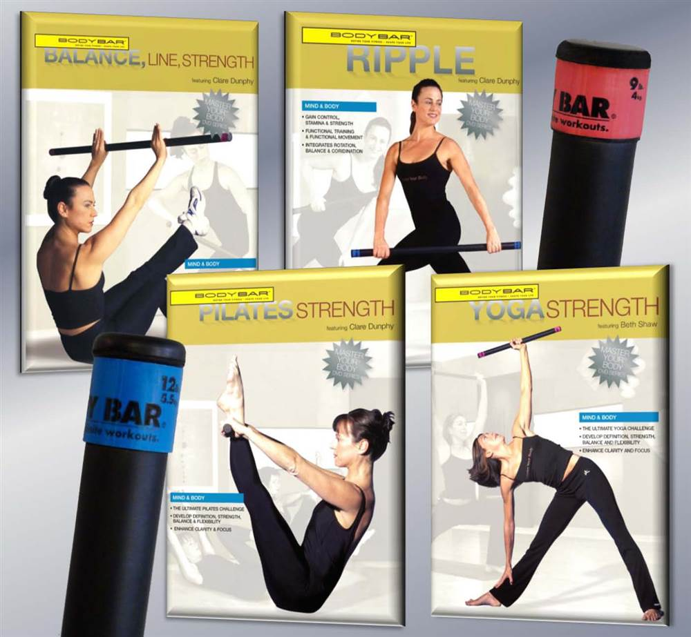 2-Pc Gym Body Bar