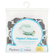 My Brest Friend Original Nursing Pillow Slipcover (pillow not included), Black and White Marina