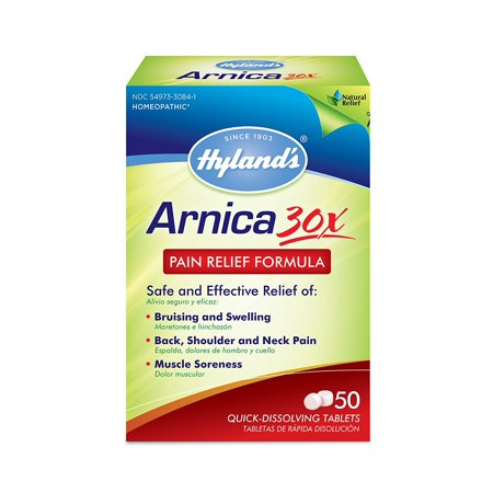 Arnica 30X Pain Relief Hyland Formula, Contusions, dos, épaule, cou et douleurs musculaires ..., bateau des Etats-Unis, Marque Hyland's Homeopathic