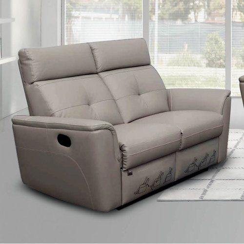 Noci Design Noci Leather Reclining Loveseat