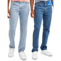 2-Pack George Men's Regular Fit Jeans