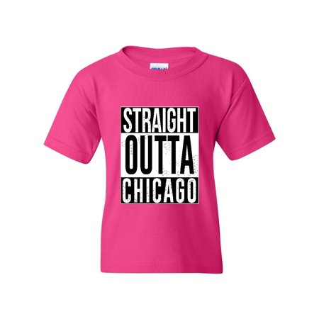 907c101bc17a J H I - Straight Outta Chicago Matching Couples Hip Hop Music Fan Party  Gift Match w Hats Unisex Youth Kids T-Shirt Tee Clothing - Walmart.com