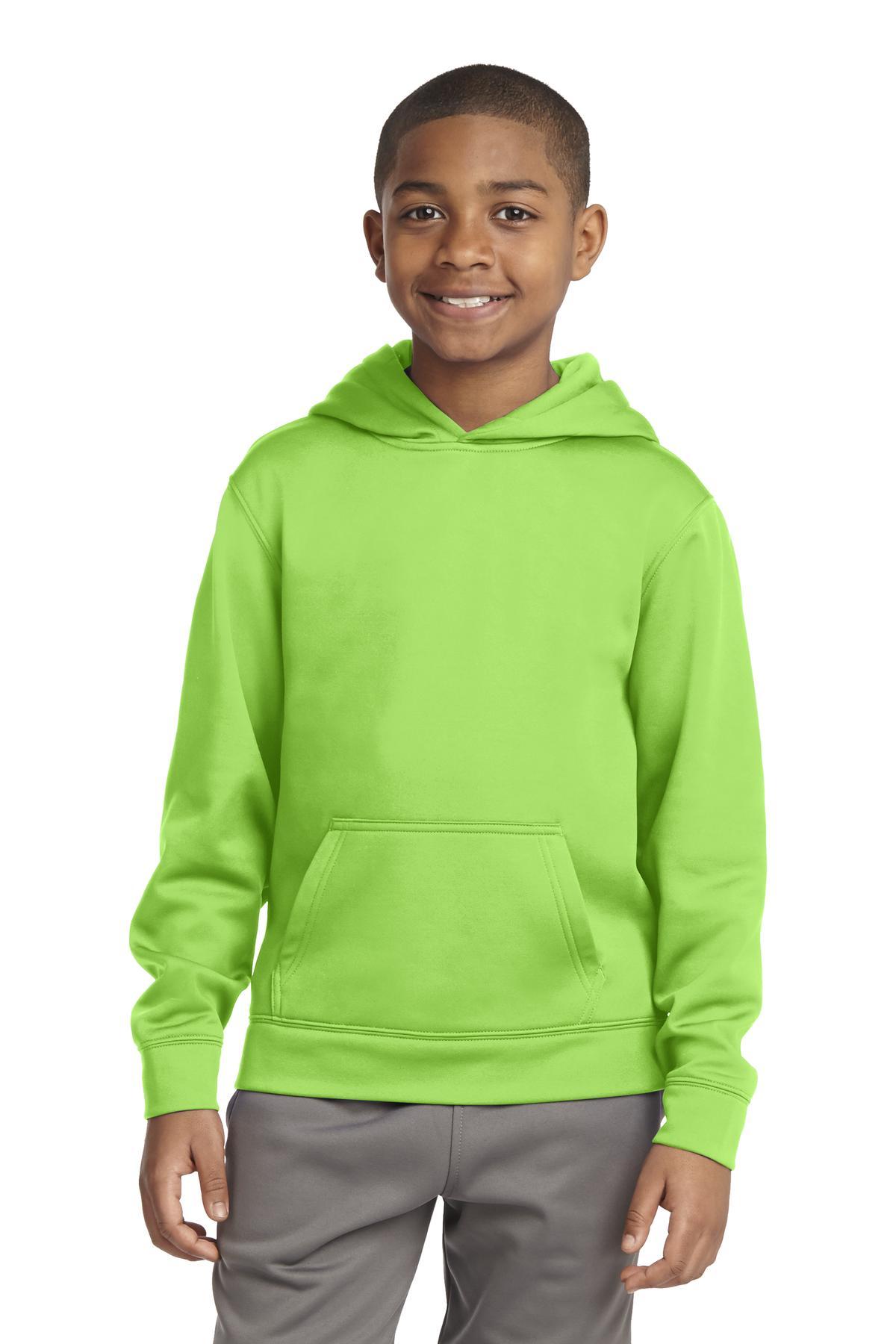 SportWick Fleece Hooded Pullover