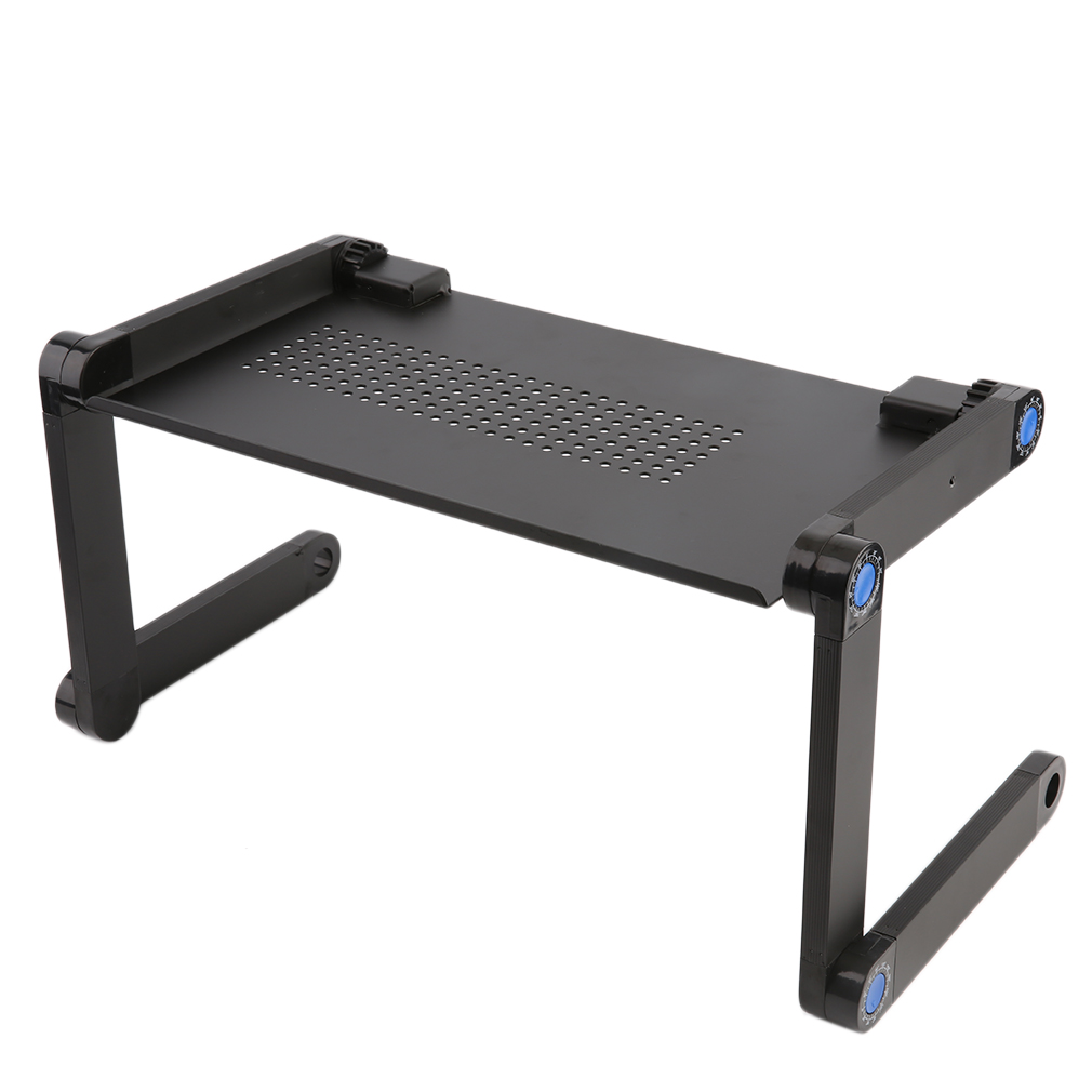 Elegant Unique Bargains Tray Aluminum Adjustable And Foldable Laptop Desk Notebook Table  Desk Portable Tray Aluminum