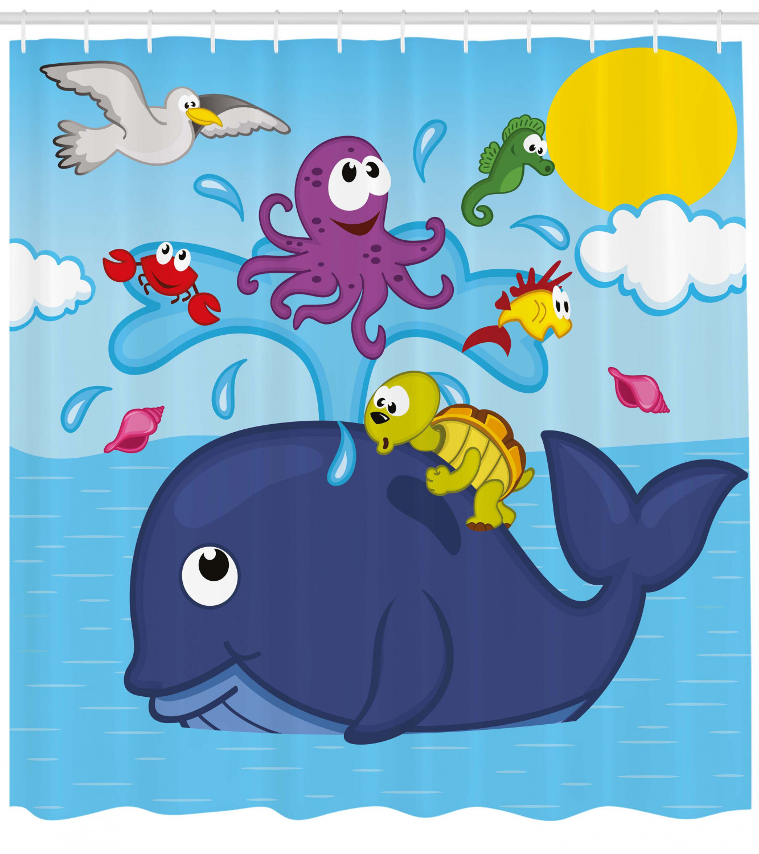 Carters Infant /& Toddler Girls Sea Life Octopus Pajamas Whale Fish Sleep Set