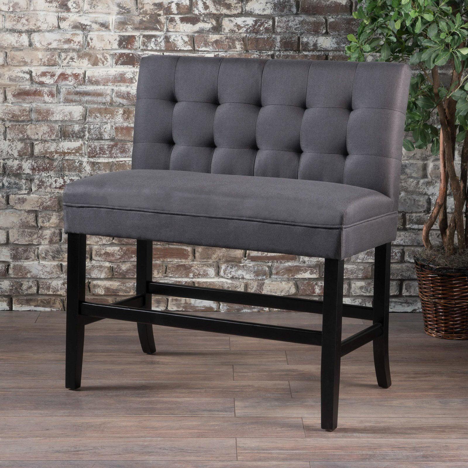 Kenya Fabric Barstool Bench Walmart Com Walmart Com