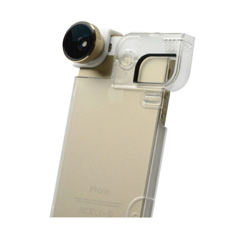 Gold Transparent Lens (olloclip 4-In-1 Lens and Quick-Flip Case for and Pro-Photo Adapter - iPhone 5/5s Gold Lens/Clear)