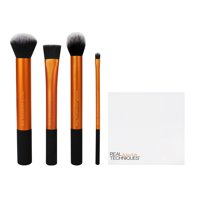 Real Techniques Flawless Base Makeup Brush Set, 5pcs