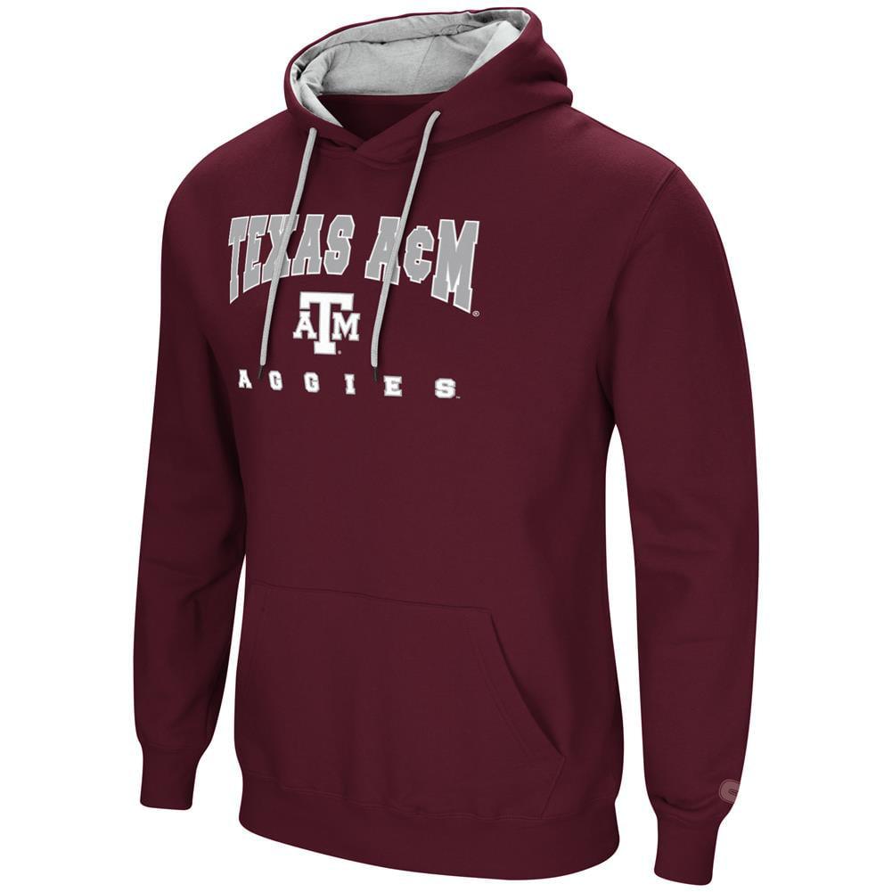 Texas A&M Aggies Men's Hoodie Pullover Hooded Sweatshirt