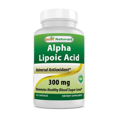(Best Naturals Alpha Lipoic Acid 300 mg 120 Capsules)