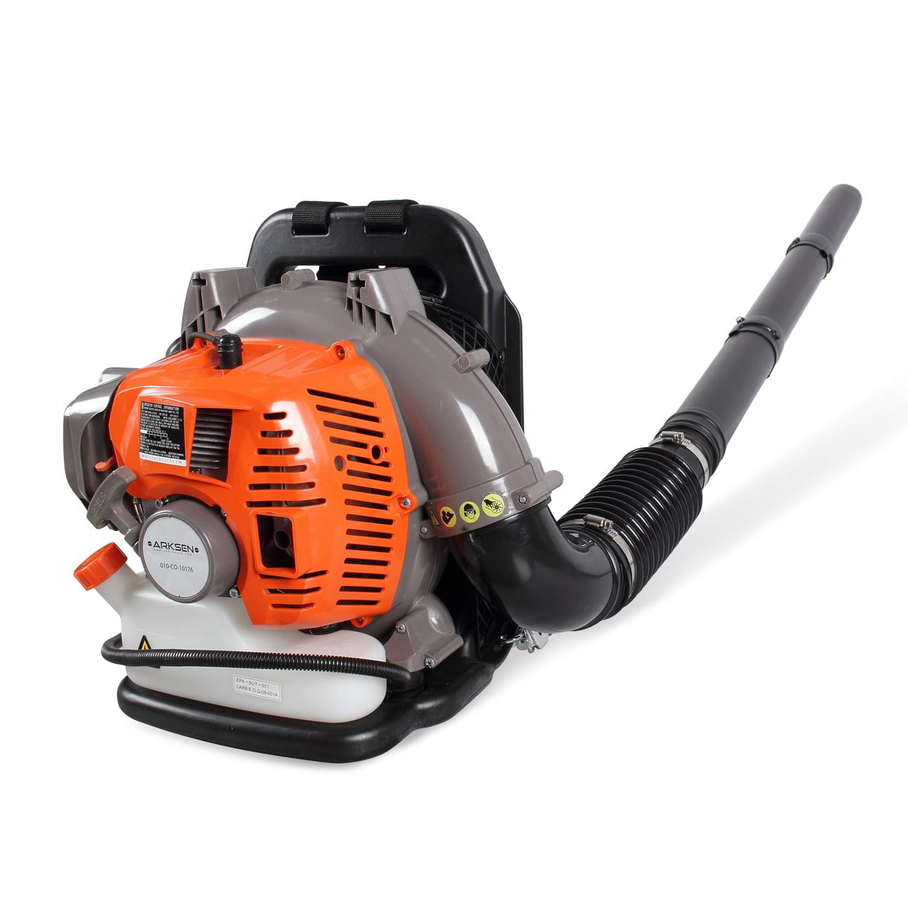 ARKSEN 52CC Gasoline Leaf Blower Backpack Garden 2-Cycle Gas Debris Duster Outdoor Backyard 2-Stroke Powered EPA