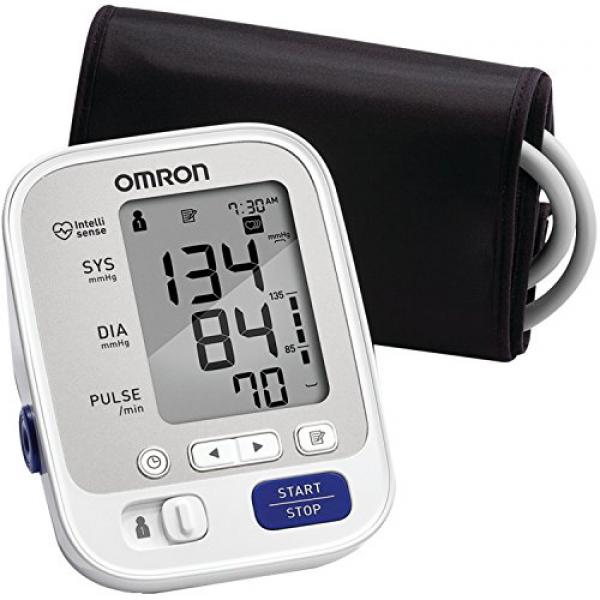 Omron 5 Series Upper Arm Blood Pressure Monitor with Cuff that fits...