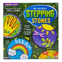Made by Me D.I.Y. Stepping Stones, 7 in. Each, 4pcs