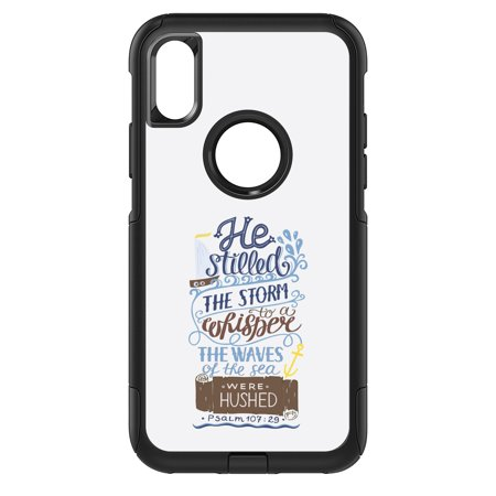 DistinctInk Custom SKIN / DECAL compatible with OtterBox Commuter for iPhone XS MAX (6.5