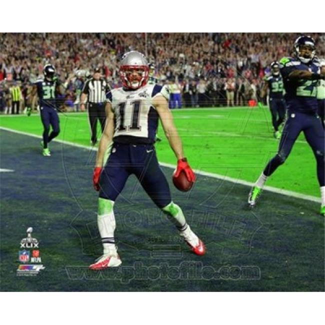 Julian Edelman Touchdown Super Bowl Xlix Sports Photo - 10 x 8 in. - image 1 de 1