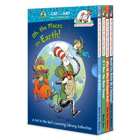 Barret Place Collection - Oh, the Places on Earth! A Cat in the Hat's Learning Library Collection