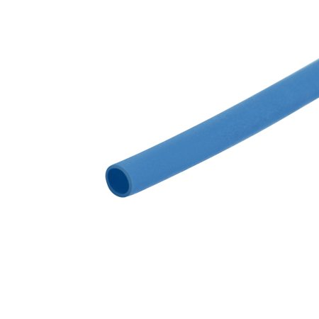 Heat Shrink Tube 2:1 Electrical Insulation Tubing Blue 0.6mm Diameter 1m Length Blue Heat Shrink Tubing