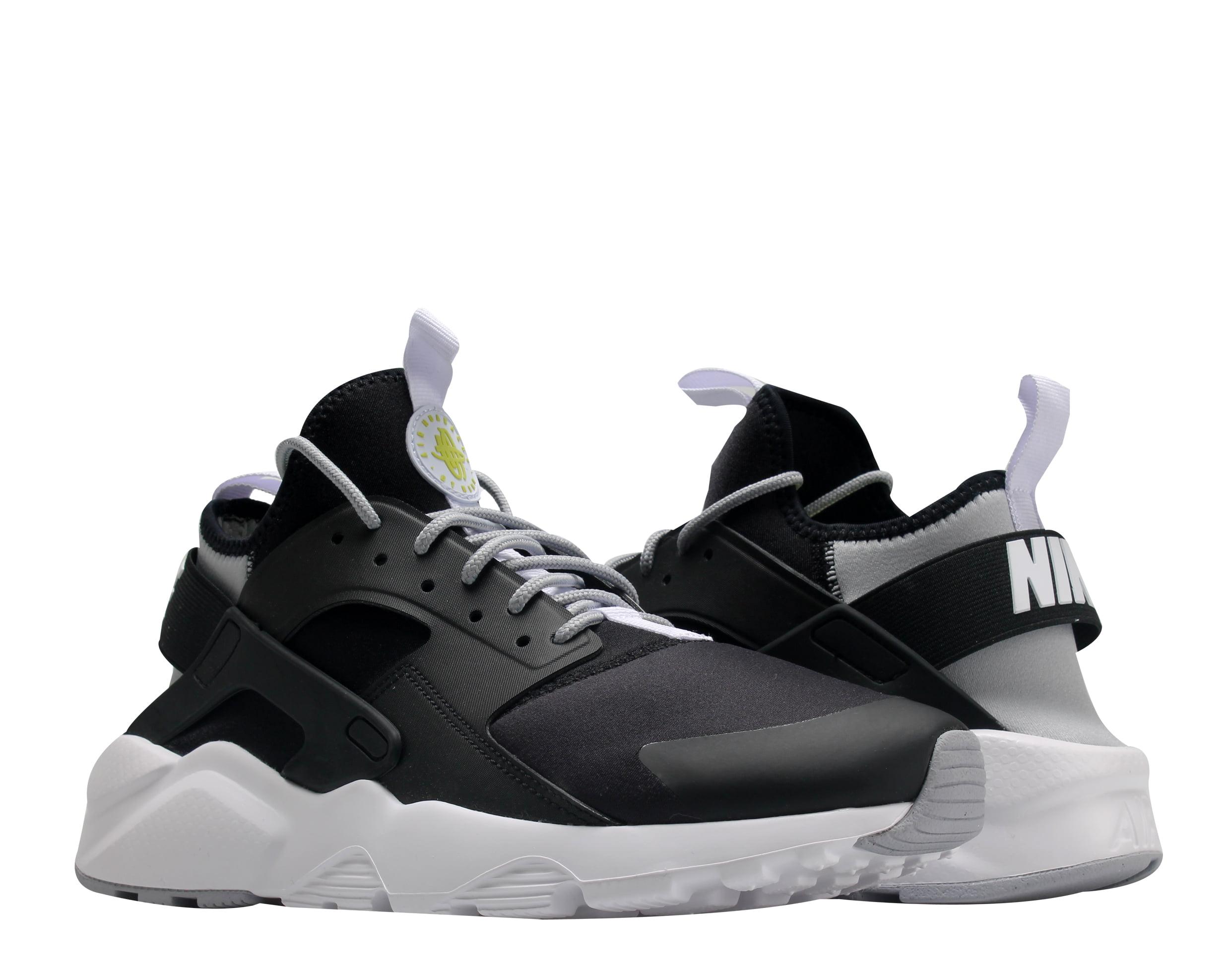 Nike Air Huarache Run Ultra Black/White-Grey Men's Running Shoes 819685-014