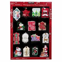 Kirkland Signature Handmade Holiday Gift Tags (60 Count) - Perfect for the Holidays!