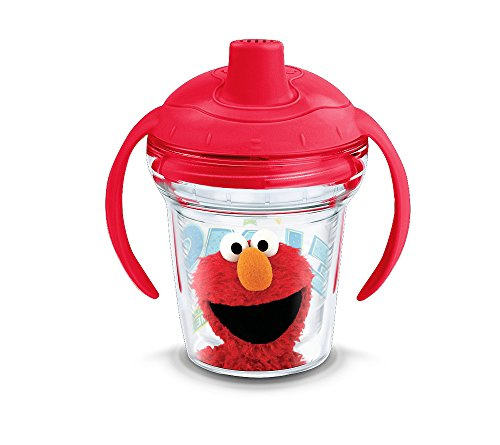 Tervis Seseme Street Elmo Sippy Cup, BPA Free, 6 oz by Tervis
