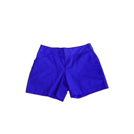 Inc International Concepts Goddess Blue Cotton-Blend Shorts 8 (Goddess Clothing)