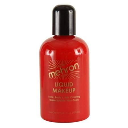 Mehron Liquid Face Paints - Red (4.5